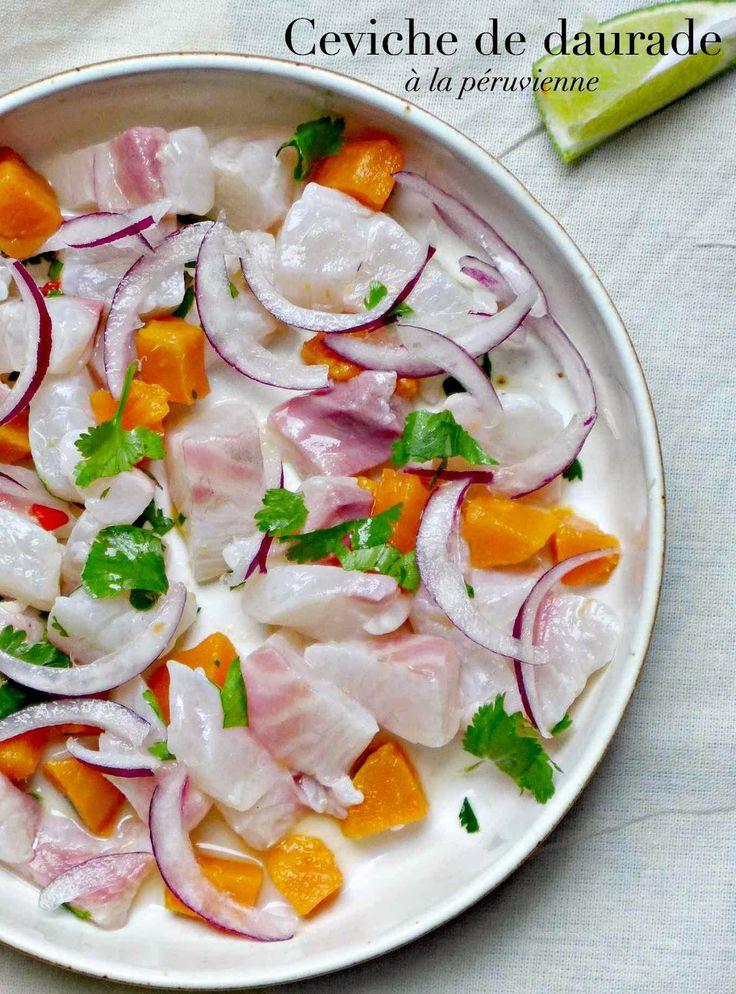 Ceviche de daurade à la péruvienne - Very easy kitchen