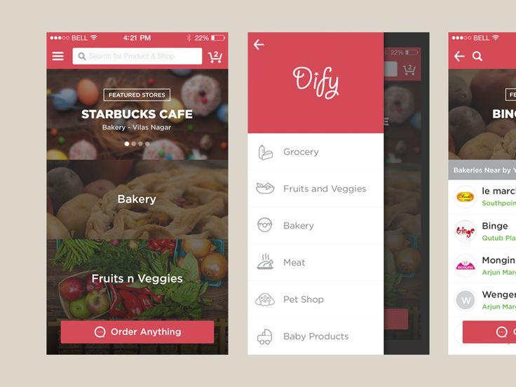 Local Food Ordering App