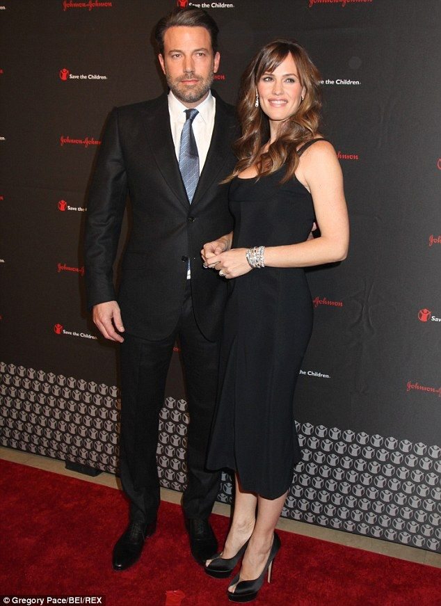 Blossoming love: Ben and Jennifer Garner met on the set of 2001's Pearl Harbor, but didn't...