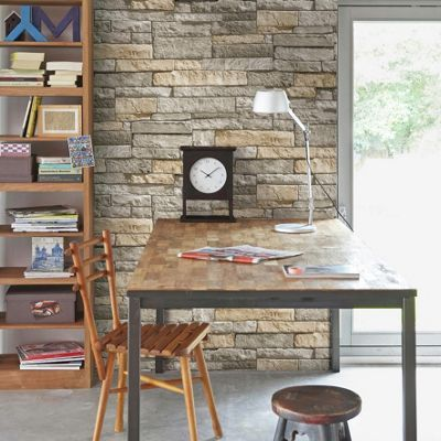 Buy Superfresco Ledgestone Wallpaper - Grey and Terracotta at Argos.co.uk, visit Argos.co.uk to shop online for Wallpaper
