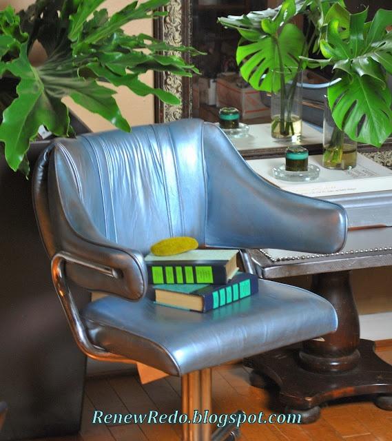 Use Rub N Buff On Old Pleather Furniture