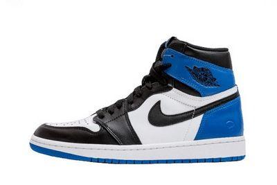 Authentic Nike Air Jordan 1 x Fragment Design Shoes Violet Women/Mens shoe Shop Online Salenikestore Num.F0176