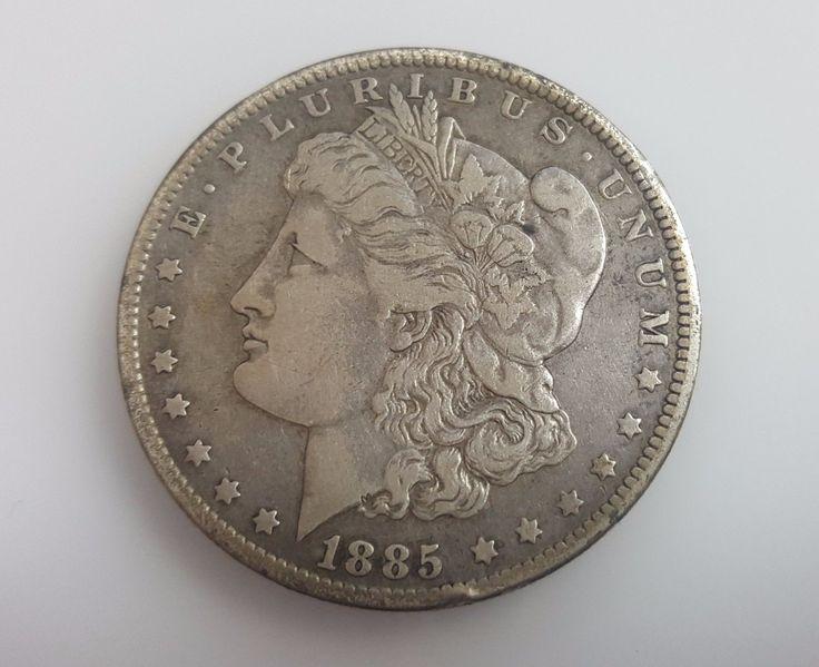 1885-O Morgan E. PLURIBUS UNUM One Dollar USA Silver Coin  http://i.ebayimg.com/images/g/KWoAAOSwUUdXD7x4/s-l1600.jpg      Item specifics     Certification:   Uncertified   Composition:   Silver     Year:   1885      1885-O Morgan E. PLURIBUS UNUM One Dollar USA Silver Coin  Price : 155.00  Ends on : 4 weeks  View on eBay... https://www.shopnet.one/1885-o-morgan-e-pluribus-unum-one-dollar-us
