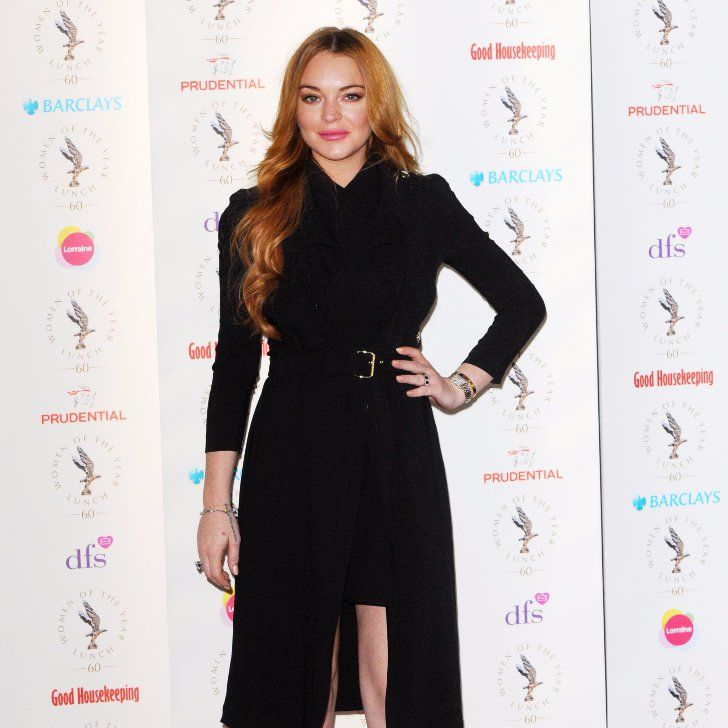 Pin for Later: Lindsay Lohan Attempts to Tell Fans They're Beautiful in a Hilarious Instagram Fail
