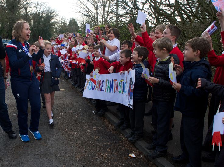 Anthony Roper Primary School welcome Lizzy