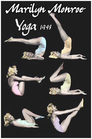 Pin By Clicfilmlistress On Clic Hollywood Sports In 2018 Pinterest Yoga Marilyn Monroe And Fashion
