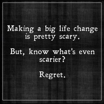 Regret..