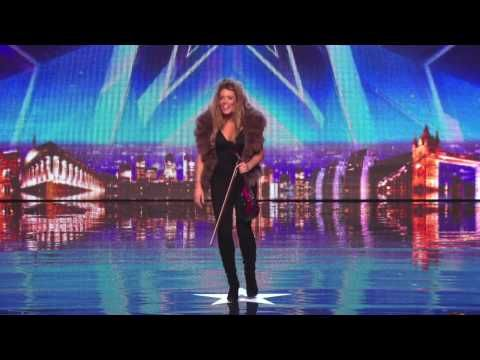 Mujer sorprende tocando violin version electro a los jurados de Britain's got talent 2014- HD - YouTube