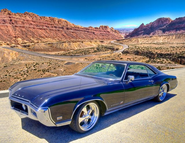 1968 Buick Riviera. In it's time, it was one hot car.