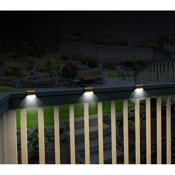 Arthur Led Deck Light Pack New House In 2019 Solar