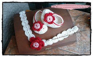 Hainute si accesorii crosetate by Mariana: Pentru bebelusi