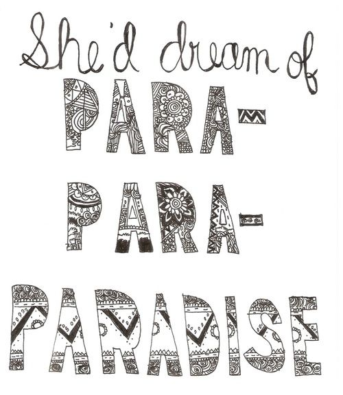 Quite like this - paradise, Coldplay