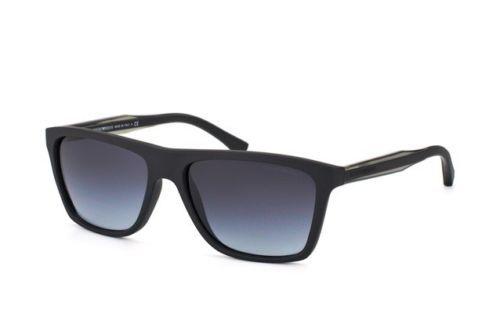 New Emporio Armani Sunglasses EA4001 50638G Black / Gray Gradient 56MM