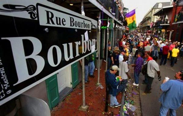 I cannot even begin to imagine what Bourbon Street is like during Mardi Gras ... during October it was crazy enough!