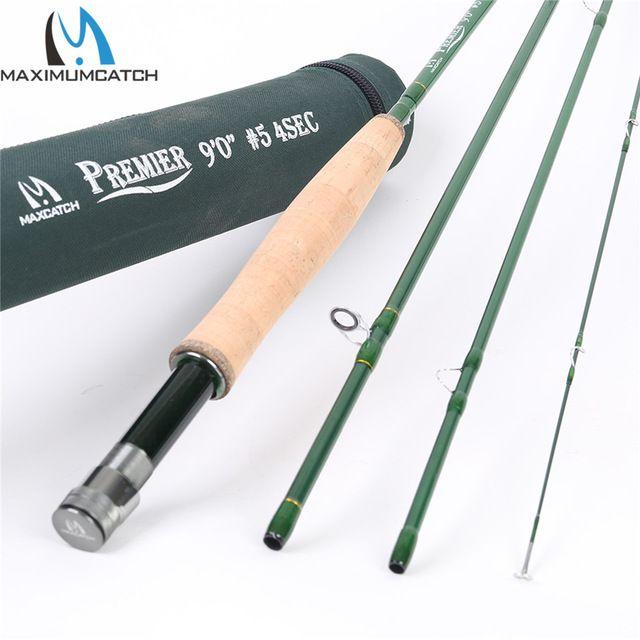 Maximumcatch Premier 3 4 5 6 7 8 9 10 12 Wt Fly Rod Carbon Fiber Fly Fishing Rod With Cordura Tube Fly Fishing Rod Review Fly Fishing Rods Fly Rods Fishing Rod