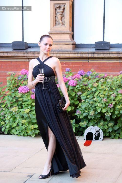 Роскошное черное  #платье #Отзывы о платьях / #DRESSRENT - в Москве
