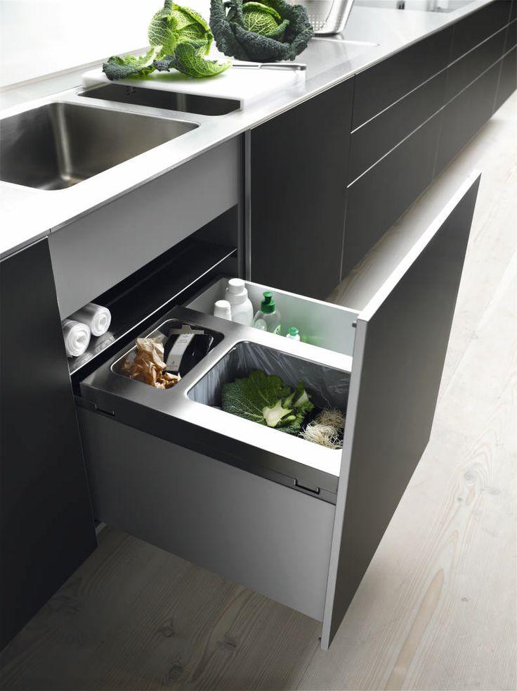 Bulthaup keuken b3 bij intermat mijdrecht modern strak for Accessoires cuisine inox