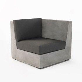 Box Concrete Chair (Left)