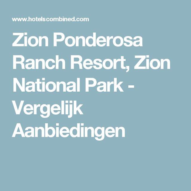 Zion Ponderosa Ranch Resort, Zion National Park - Vergelijk Aanbiedingen