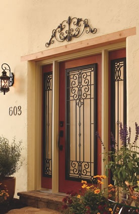 Jeld Wen Design Pro Fiberglass Series Front Entry Door Full View Style Full View Sidelites