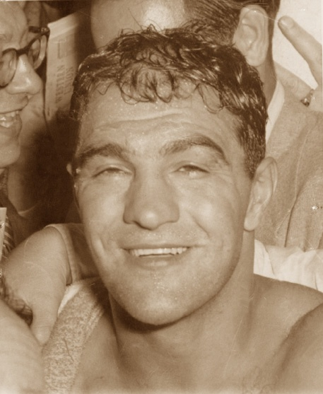 Rocky Marciano....the real Rocky. The one and only!