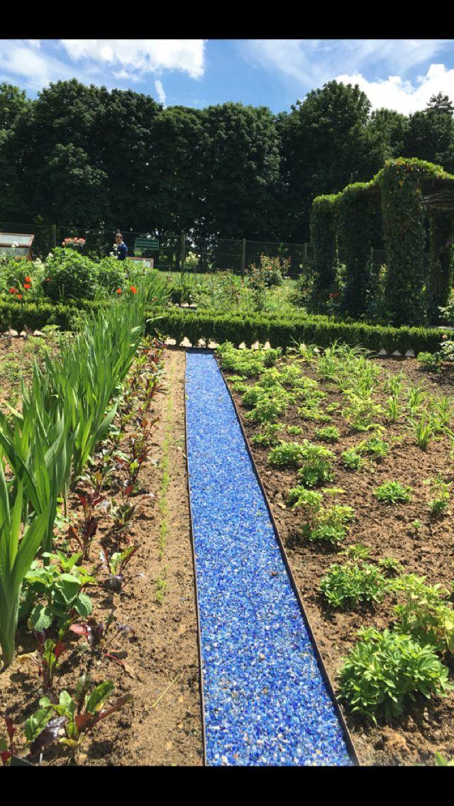 Taking you down the garden path! Blue quartz...