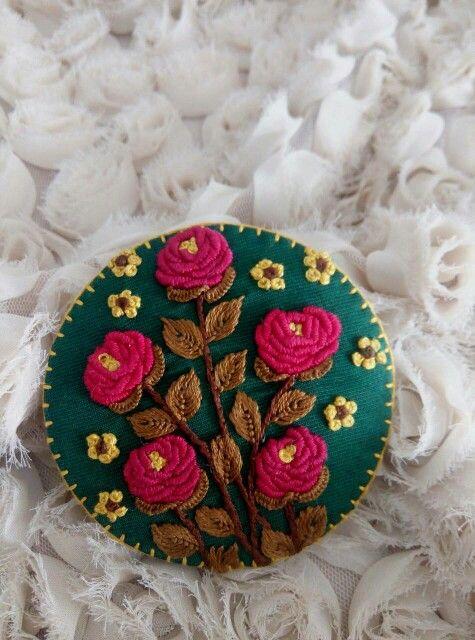 I love hand embroidery
