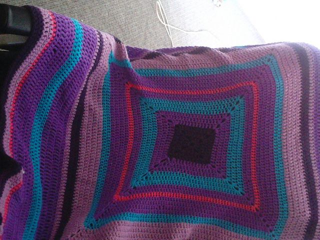 Ravelry: JustBecauseICan's Lolo's purple people eater