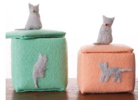 How-Tuesday: Crafting With Cat Hair on Etsy