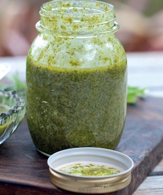 Salsa Verde - Sauce verte - Annabel Langbein