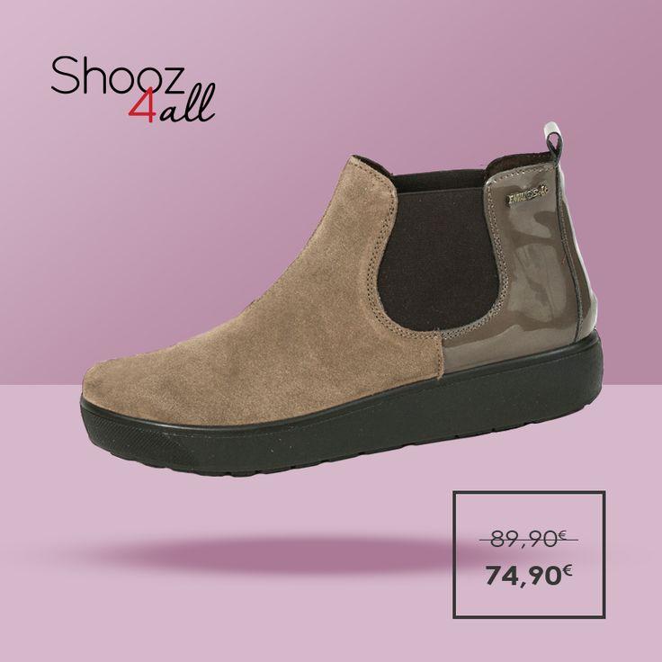Για εσάς που αναζητάτε μοναδική άνεση στην καθημερινότητα σας, γυναικεία παπούτσια του οίκου Enval (Made in Italy). Flatoforms μποτάκια από γνήσιο δέρμα, με δερμάτινο ανατομικό πάτο και σόλα από αντικραδασμικό και αντιολισθητικό υλικό. http://www.shooz4all.com/el/gynaikeia-papoutsia/dermatina-flatforms-imimpota-69913-detail #shooz4all #dermatina #flatforms