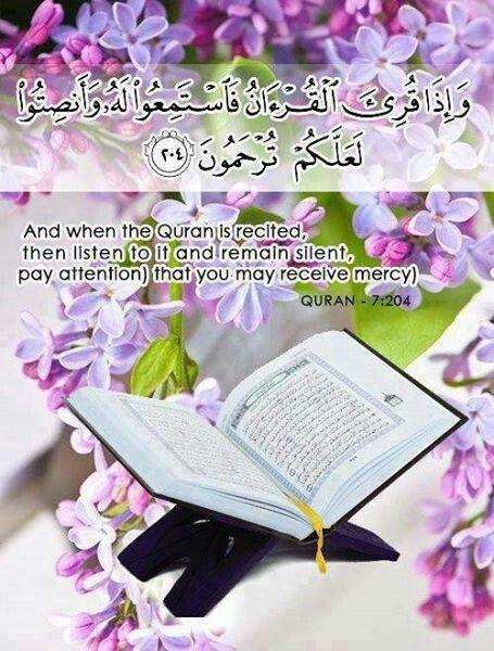 Quran:7:204