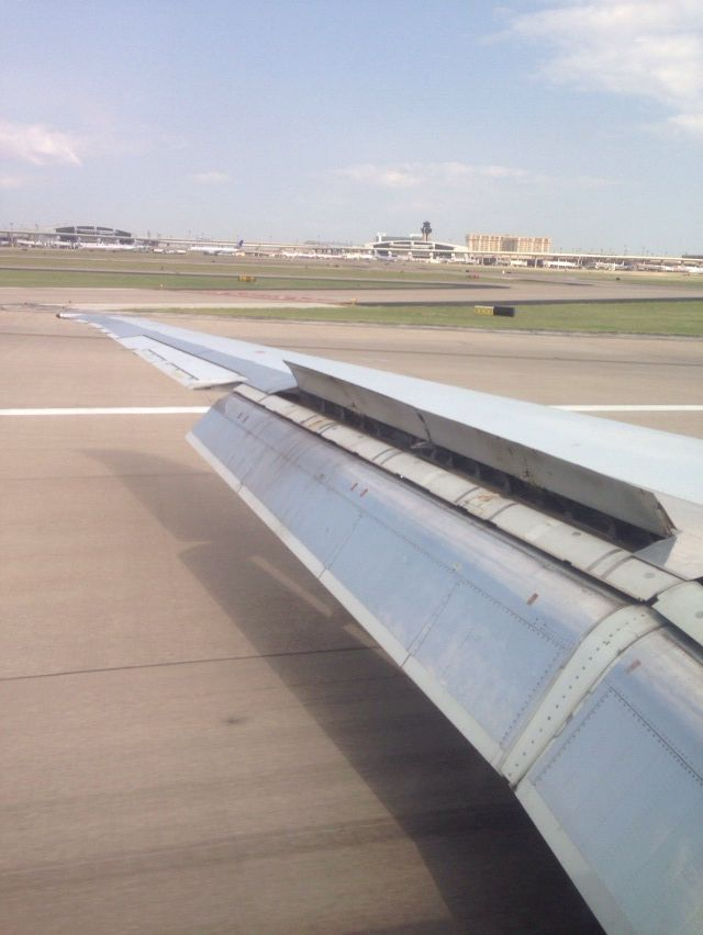 Just arrived DFW!