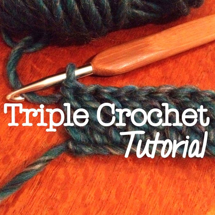 How to do Triple Crochet - a step-by-step tutorial with pictures  #crochet #basics #stitches