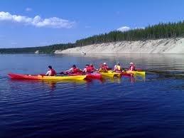 #canoeing on #Oulujärvi near to #ärjänsaari
