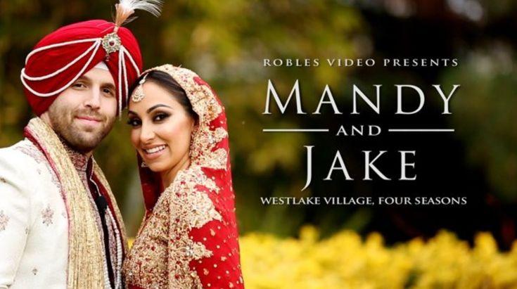 Mandy Bawja & Jake Gibbens - Cinematic Short Reel (Sangeet & Sikh Ceremony)