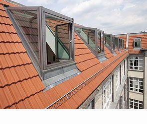 PULTDACHGAUBEN | LUXIA® LINES - Dachfenster Dachwohnfenster Lichtgauben Glasgauben