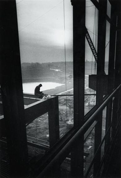 Willy Ronis, Centrale sidérurgique de Richemont (Moselle, Made of Gelatin silver print on Agfa paper