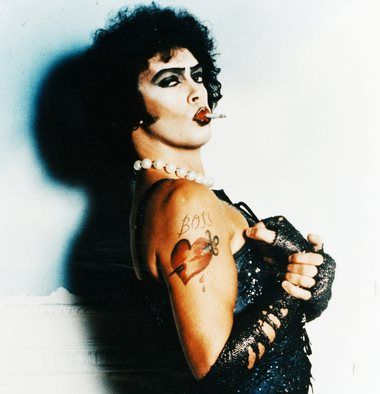 Horror picture rocky show sweet transvestite