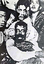 Carranza era el primer jefe del ejército Constitucionalista, tuvo importantes diferencias con los dos importantes jefes revolucionarios: Francisco Villa y Emiliano Zapata,