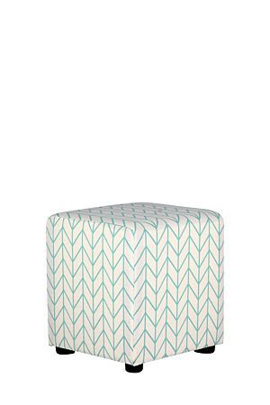 """Upholstered with a polyester geometric design, this cube is space efficient and great for extra informal seating or as a footrest at the end of a long day.<div class=""""pdpDescContent""""><BR /><b class=""""pdpDesc"""">Dimensions:</b><BR />L42xW42xH46 cm<BR /><BR /><b class=""""pdpDesc"""">Fabric Content:</b><BR />100% Polyester<BR /><BR /><div><span class=""""pdpDescCollapsible expand"""" title=""""Expand Cleaning and Care"""">Cleaning and Care</span><div class=""""pdpDescContent"""" style=""""display:none;""""><ul><li> A vacuum…"""