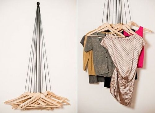 20 Hangers Wardrobe by Alice Rosignoli.