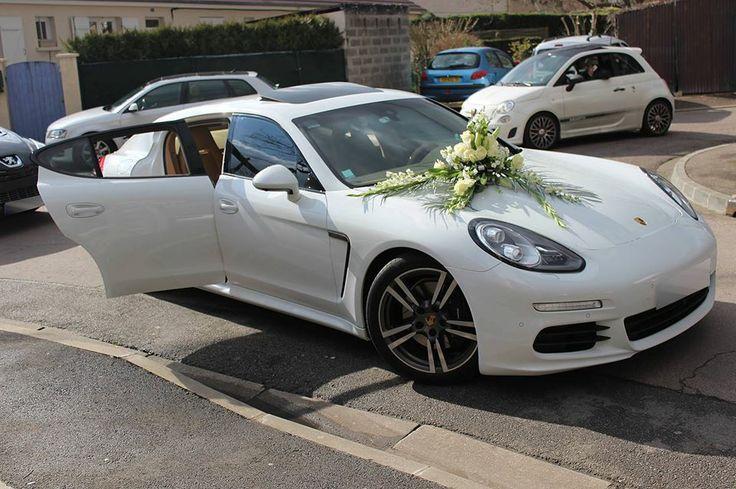 Porsche Panamera Blanche