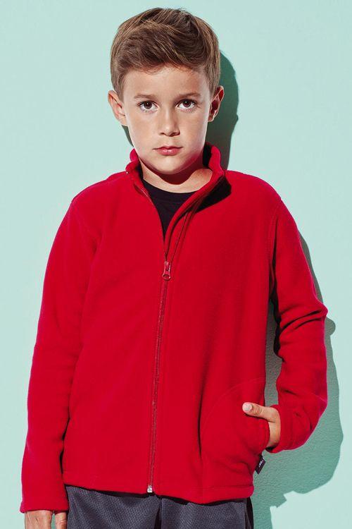 Polar de copii Active by Stedman din 100% poliester fleece #personalizare #textile promotionale #polare #copii