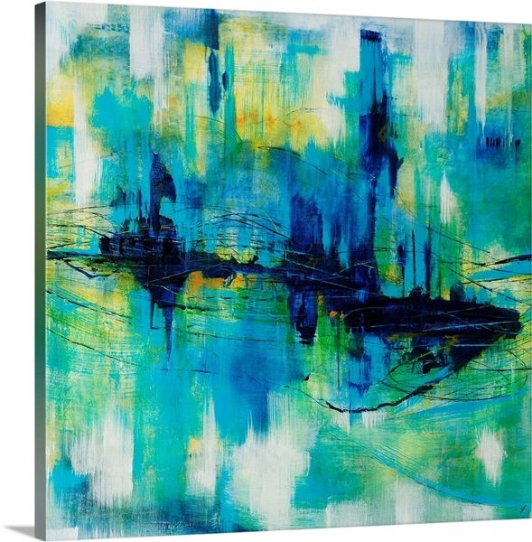 Rush Hour Blues Blue Wall Art Canvas Prints Classic Art