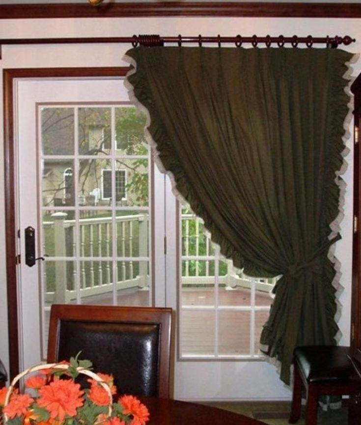 100 ideas to try about curtains for sliding glass doors for Patio window treatment ideas