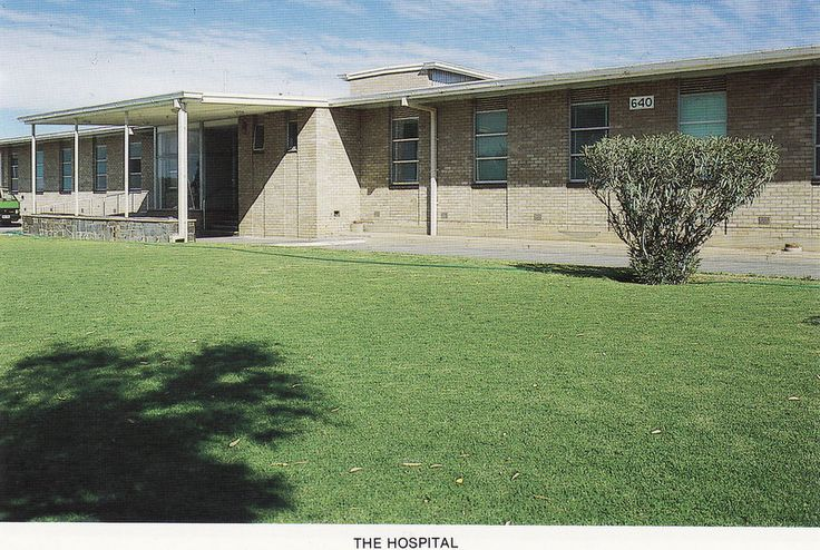 Woomera Hospital   -   Our son was born here when we were stationed here with the USAF.