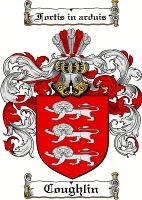Coughlin Family Crest / Coughlin Coat of Arms