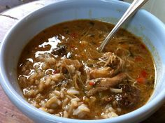 recipe: paul prudhomme chicken and sausage gumbo [16]