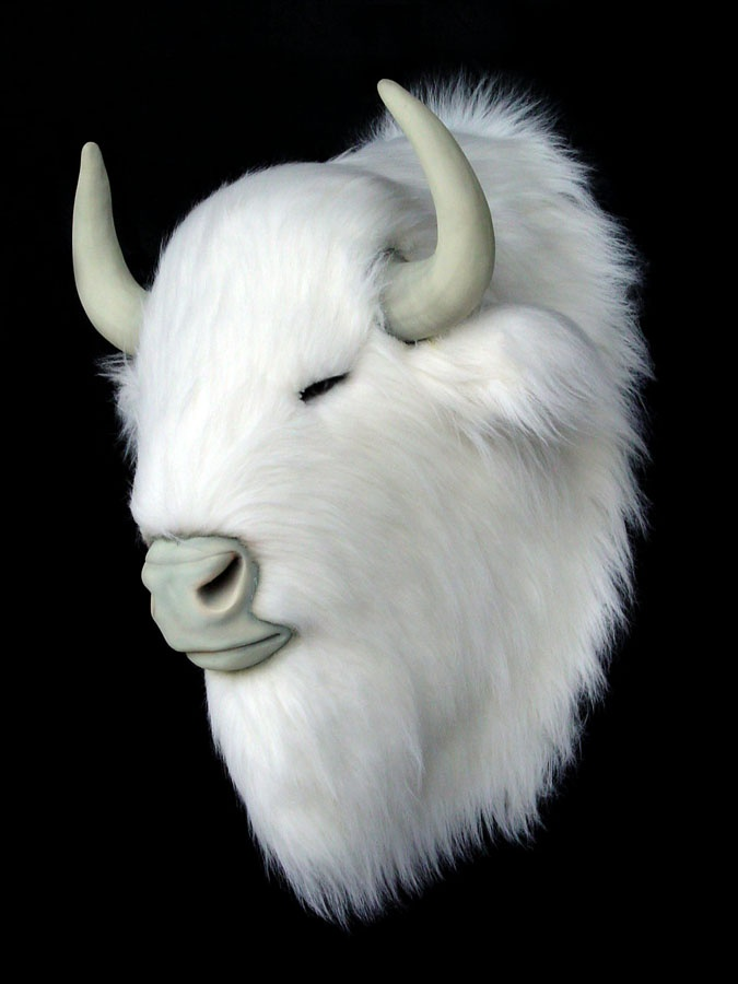 Animal Head Wall Decor White : Best images about mounted heads on wall